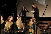 Studenti kvarty Gymnázia dr. Aleše Hrdličky v Humpolci, kteří jsou zároveň žáky humpolecké základní umělecké školy.