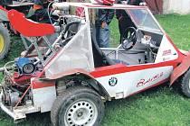 Příznivci bugin se v sobotu mohou setkat s mistry volantu na humpolecké trati Pod Vilémovským lomem.