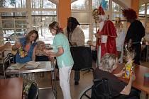 Čerti v pelhřimovském domově seniorů