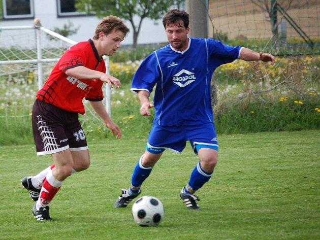 Fotbalisté Ústrašína podali sice v domácím zápase s Věžnicí bojovný výkon, přesto na body nedosáhli.