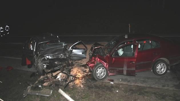 Pondělní nehoda u Kojčic si vyžádala tři těžká zranění