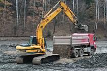 Vodní dílo Trnávka bude mít po dobu odbahňování dna výrazně sníženou hladinu.