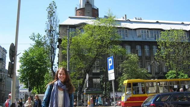 Studentka Hana Vondrů strávila čtyři měsíce v polské Lodži. Město si za tu dobu zamilovala.