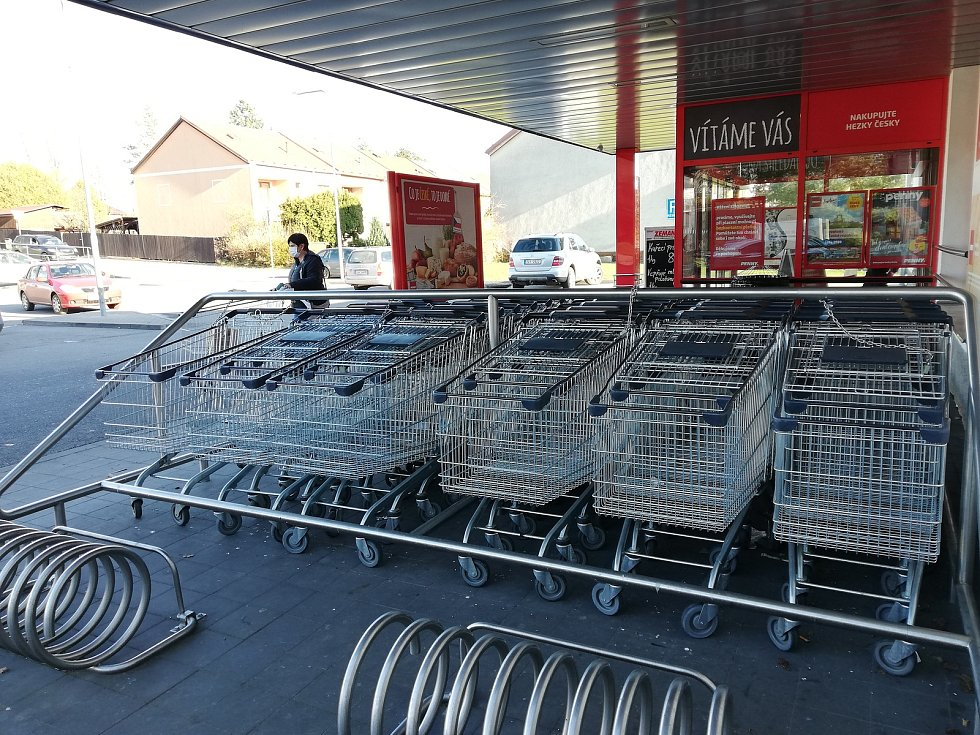 Supermarket v Kamenici nad Lipou, ilustrační foto.