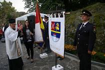 Slavnostní představení symbolů obce Kámen