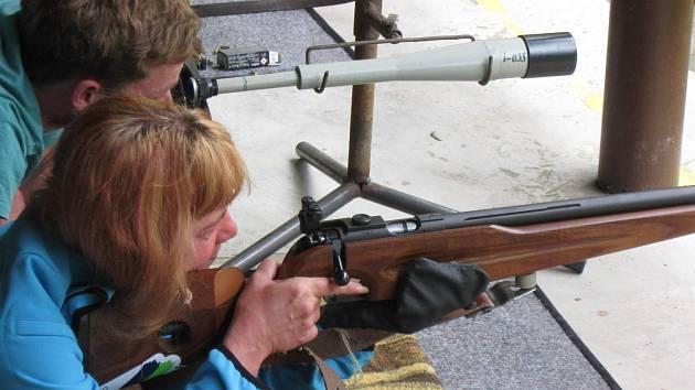 Střelecké závody na košetické střelnici v sobotu 22. června.