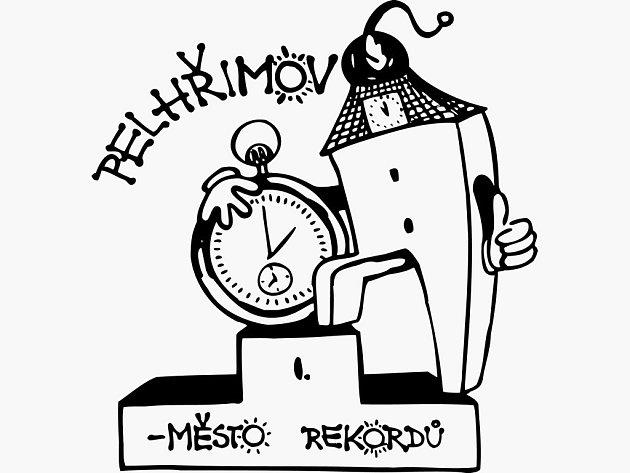 Logo MĚSTA REKORDŮ