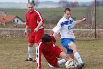 Fotbalistům rezervního týmu Černovic se na jaře vůbec nedaří. Po prohrách s Žirovem B, Budíkovem B a Novou Cerekví se propadli na předposlední příčku.