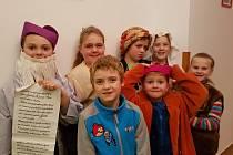Velikonoce v želivském klášteře završí v neděli 16. dubna představení Otevři dveře, které nastudovaly děti z Želiva a okolí.
