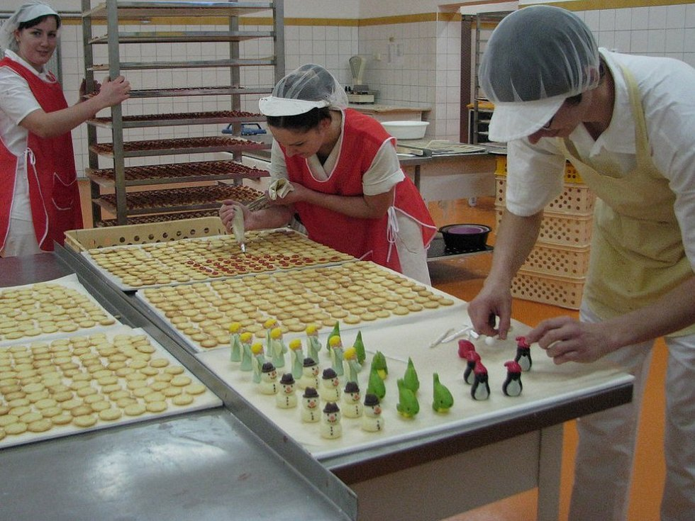 V pelhřimovské pekárně Adélka.