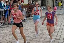 Náměstí v Pelhřimově hostilo jednu z největších sportovních akcí letošního roku