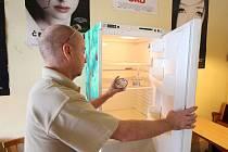 Veřejná lednice v Pelhřimově je všem přístupná ve všední dny od 10 do 20 hodin.