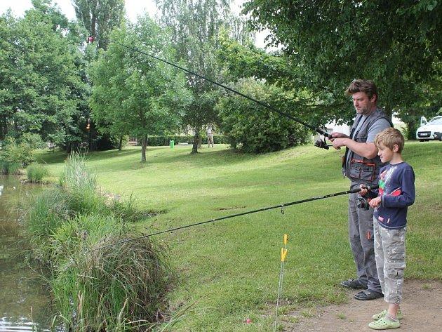 Rybáři u Stráže