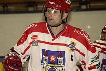 Jeden ze svých nejlepších zápasů v dresu pelhřimovského Spartaku odehrál Martin Tecl. Kapitán týmu vstřelil dva góly, navíc ten druhý vsítil v prodloužení.