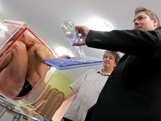 Nejnovější vydání české verze  Guinnessovy knihy rekordů pro rok 2015 pokřtili ve středu vPelhřimově.