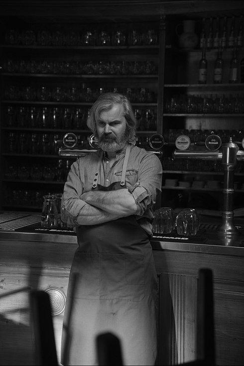 Natáčení nového reklamního spotu pivovaru Bernard.