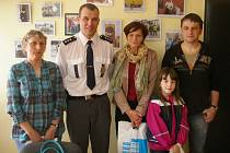 Na dopravním inspektorátu pelhřimovské policie se sešli tři vítězové soutěže Deníku o nejrizikovější dopravní místa okresu.