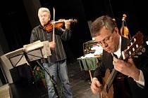 Jaroslav Svěcený koncertoval v Počátkách.