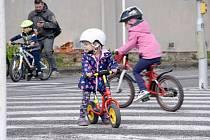 Rodinná jízda v Pelhřimově v sobotu 18. května.