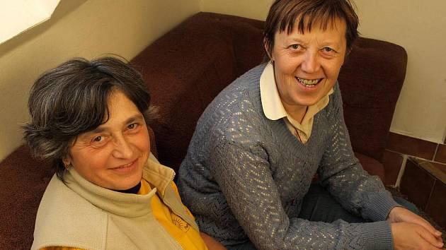 Věra Marešová (vlevo) a Milada Zemanová.