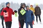 Ve Lhotě - Vlasenici se uskutečnil druhý ročník závodů na běžkách.