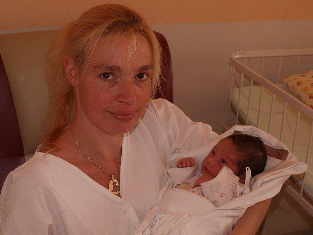 Johanka Svitáková, 14.5. 2013, Křelovice, 2 800 g