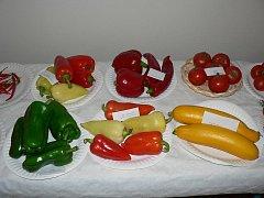 Výstava ovoce a zeleniny v Pacově