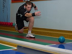 Nové osobní maximum si při zápase v Přerově vytvořil Petr Šindelář.