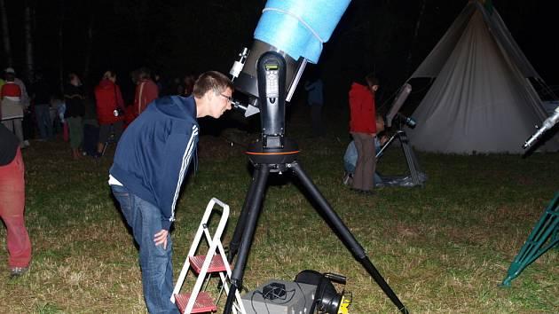 Astronomická expedice v Zachotíně