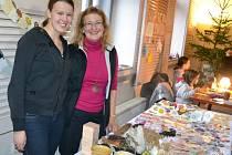 V Kalištích se od pátku do neděle konala vánoční prodejní výstava.