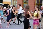 V sobotu večer se za Kulturním domem Máj v Pelhřimově uskutečnila letošní první Letní Pelhřimovská tančírna.