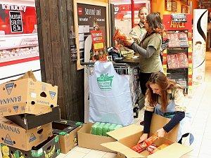 Dvacet tun nasbíraných potravin pomůže lidem na Vysočině