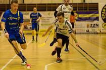 Florbalisté Spartaku Pelhřimov vyřadili ve čtvrtfinále play-off národní ligy Turnov 3:2 na zápasy.