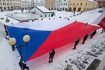 Největší vlajka České republiky.