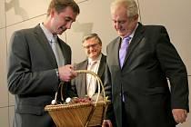 Návštěva prezidenta Miloše Zemana v Pacově a v Humpolci