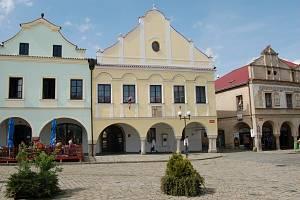 Radnice v Pelhřimově. Ilustrační foto