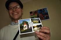 Malebný Miletín má vlastní pohlednici.