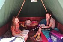 Letní tábor. Ilustrační foto