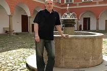 Petr Pech si vedení kamenického muzea pochvaluje. Rád by v budoucnu rozšířil výstavní prostory i depozitáře.
