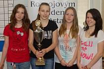 Z prvenství v týmech se radovali žáci ze ZŠ Krásovy Domky, žákyním vládly dívky ze ZŠ Osvobození.