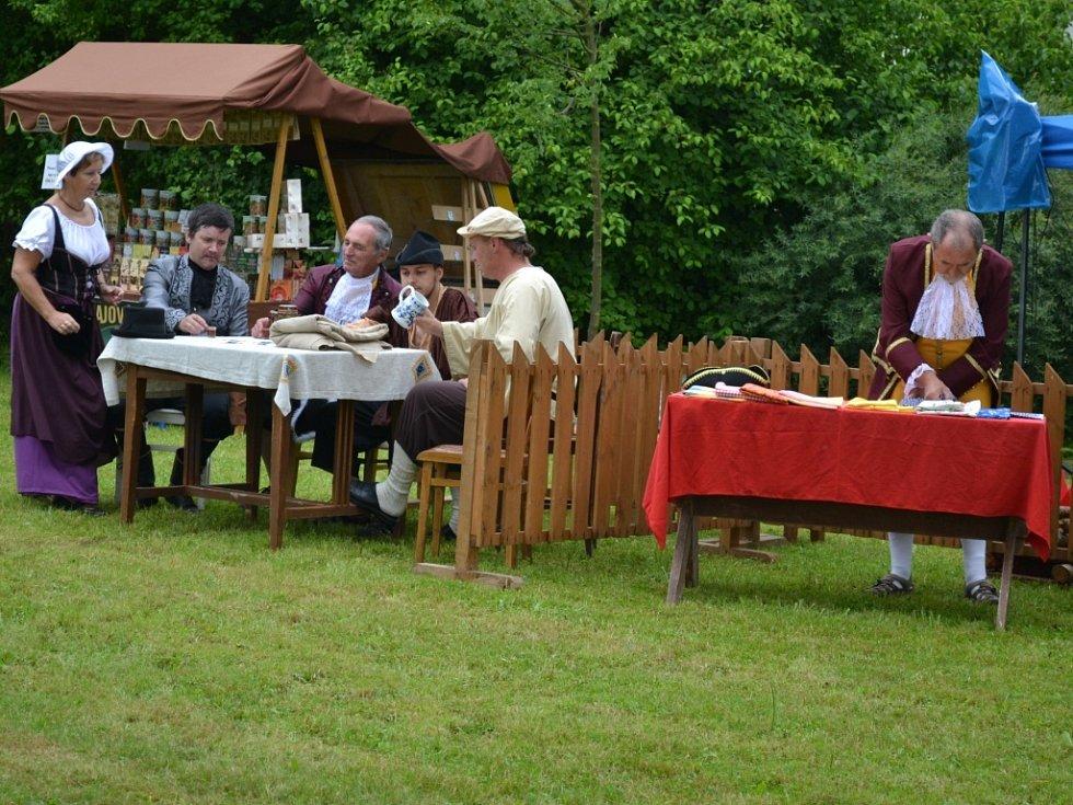 V Mladých Bříštích se konala čtrnáctá staročeská pouť.