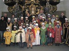 Skupinky tří králů letos na Pelhřimovsku vybrali o desetitisíce korun více než loni. Ilustrační foto:
