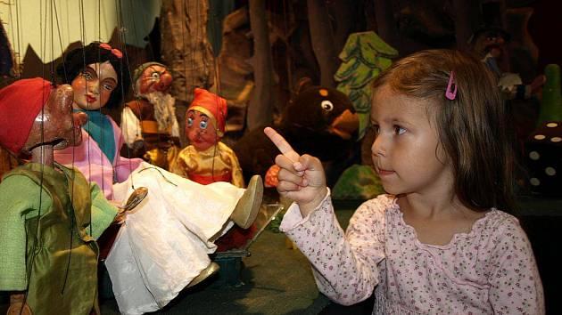 V humpoleckém Muzeu dr. Aleše Hrdličky na Horním náměstí se koná výstava loutek.