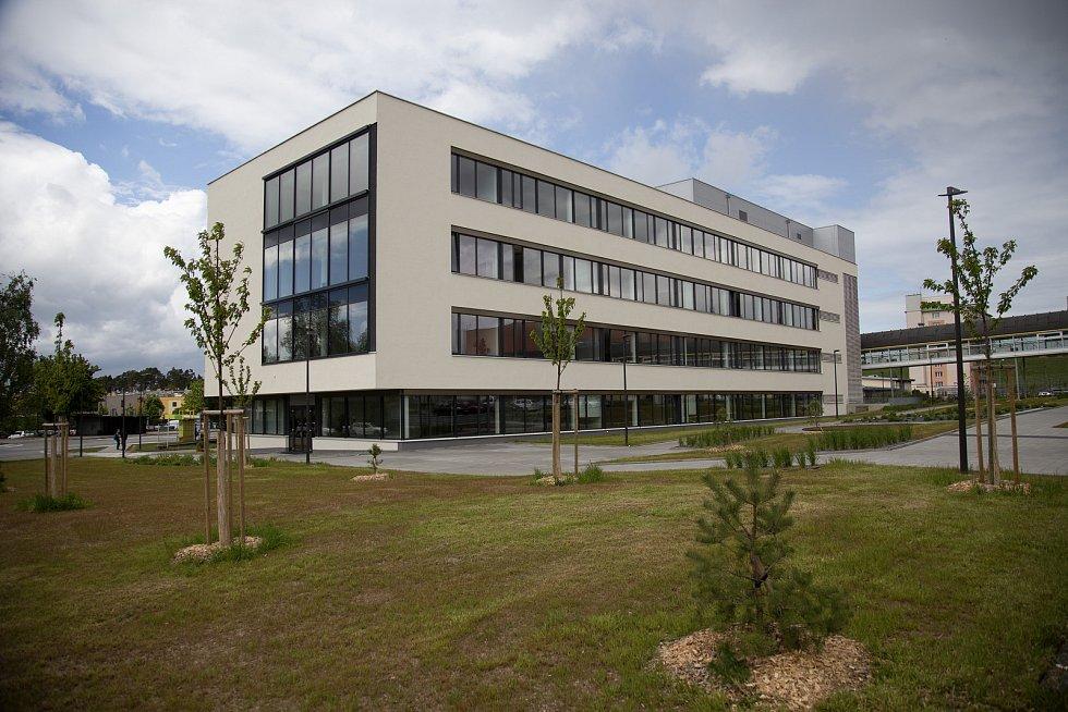 Výstavba pavilonu B Střední průmyslové školy Třebíč