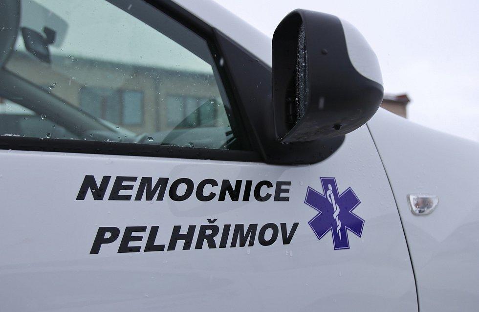 Auta pro potřeby Oddělení domácí a paliativní péče Nemocnice Pelhřimov.