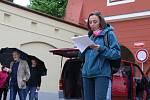 Máme toho dost! V Pelhřimově se uskutečnila další protestní akce.