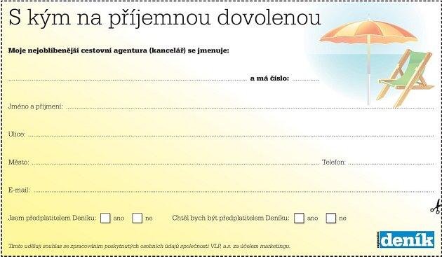 Hlasujte: S kým na příjemnou dovolenou