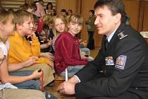 Oldřich Martinů navštívil Základní školu Hálkova v Humpolci