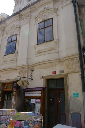 Rodný dům Emanuela Kodeta vPelhřimově.