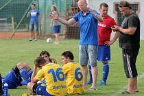 Trenér Pacova Luděk Šlechta má těžkou hlavu jen z postu brankáře.
